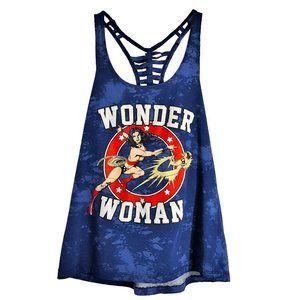 Wonder Woman Racerback Tank Top